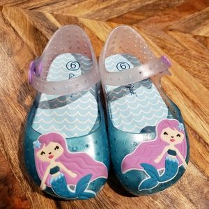 Mermaid toddler sandals